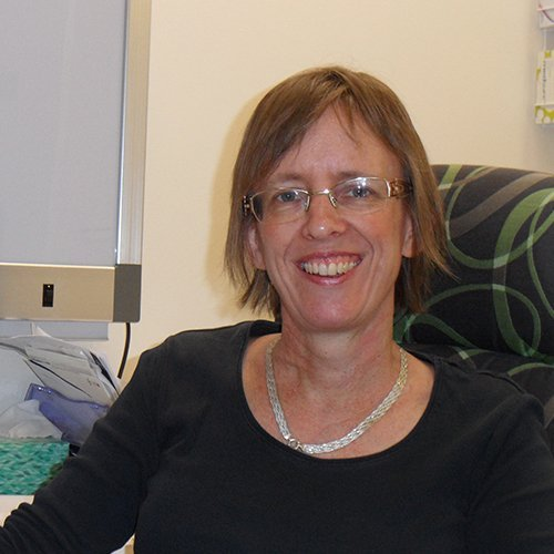 A photo of Dr Elizabeth Baer at Carseldine Family Clinic.