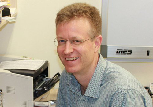A photo of Dr Justin Bissell (MBBS) at Carseldine Family Clinic.