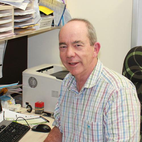 A photo of Dr Peter Knapp at Carseldine Family Clinic.